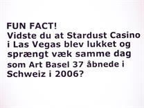 """Stardust"" (from ""€-VSN""), ""Fun Fact"", 2015, vinyl text,  40x60 cm  (© Søren Hüttel)"